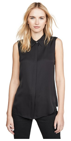 Theory modern tanelis blouse in black