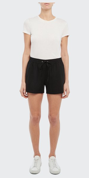Theory Simple Drawstring Shorts in blk
