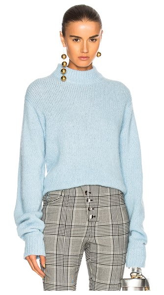 d242b0bedd Tibi Cozette Pullover Sweater in Blue