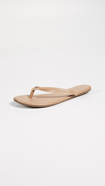 TKEES foundations flip flops in cocoa butter