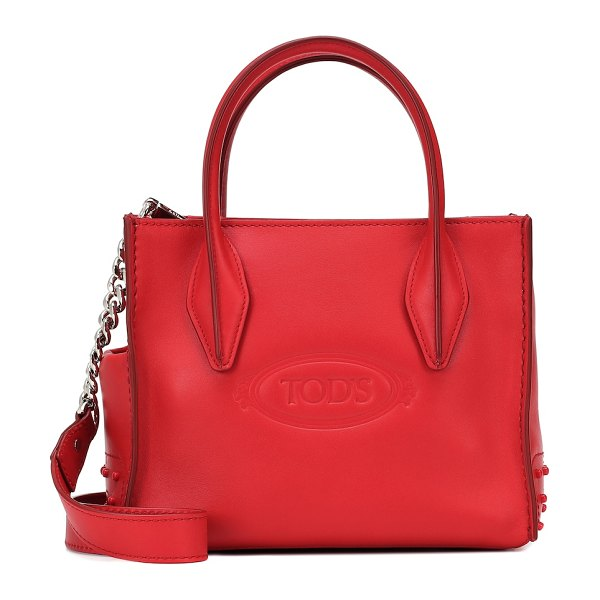 Tod's exclusive to mytheresa – shopping micro tote in red