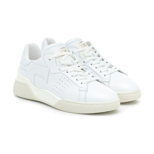 Tod's leather sneakers in white