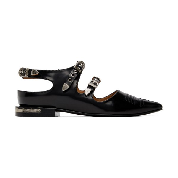 TOGA PULLA buckle oxfords in black