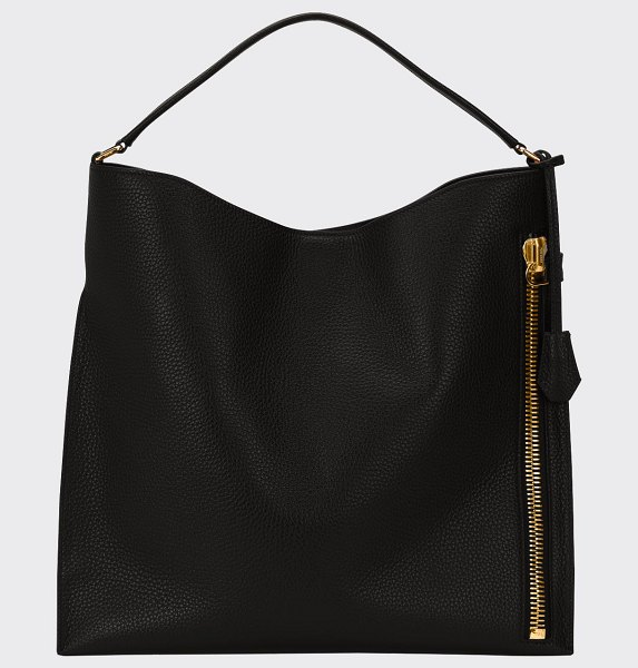 TOM FORD Large Alix Tote Bag in black