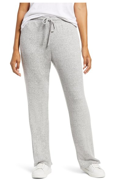 Tommy Bahama island soft brushed relax pants in pearl grey heather