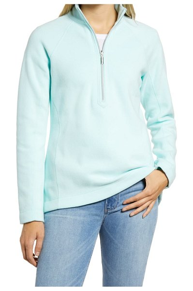 Tommy Bahama new aruba half zip pullover in blue orchid