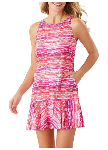 Tommy Bahama rainbow twist spa cover-up in paradise coral