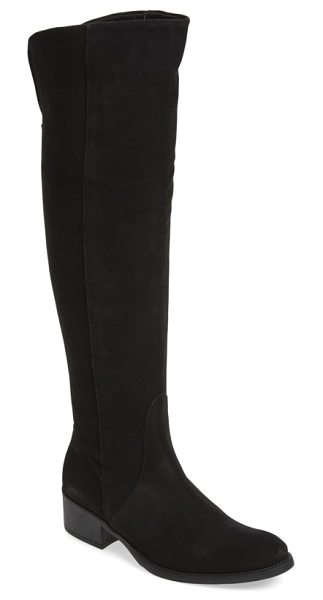 Toni Pons 'tallin' over-the-knee riding boot in black suede