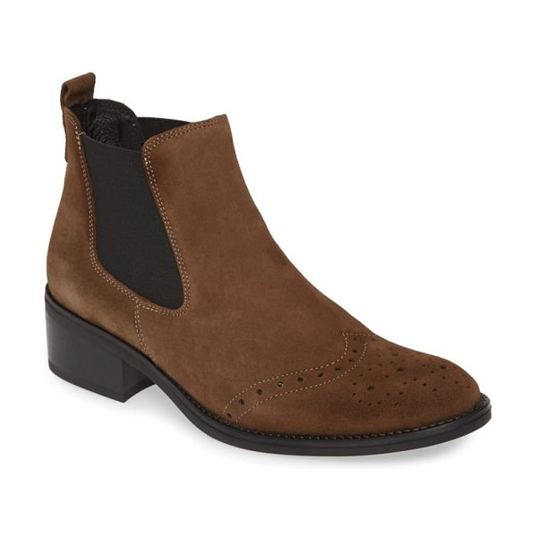 Toni Pons tivat bootie in taupe suede