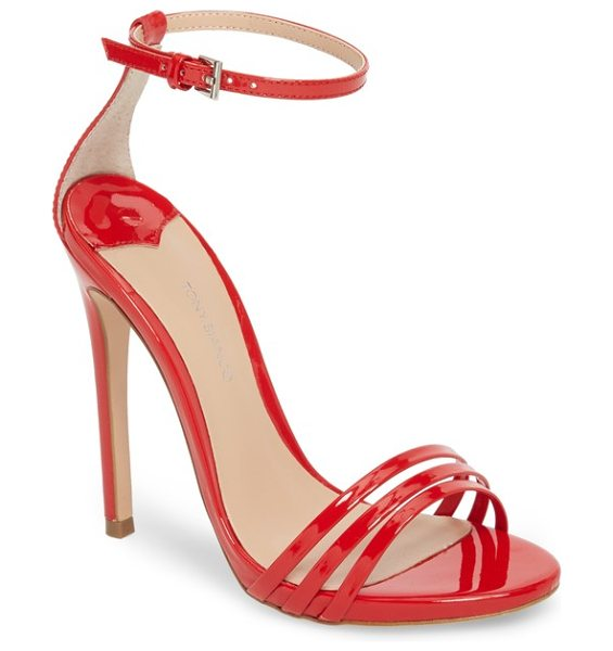 Tony Bianco aroma strappy sandal in women~~shoes~~sandals/slides - A trio of slim straps shape the toe of a barely there...