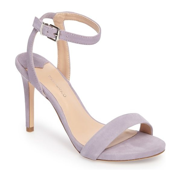 Tony Bianco char ankle cuff sandal in lilac suede - A slender ankle cuff adds to the subtly daring appeal of...