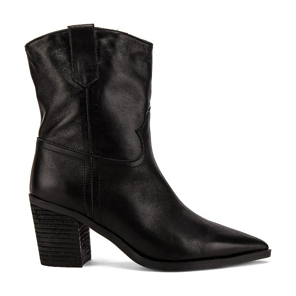 Tony Bianco scout boot in black luxe