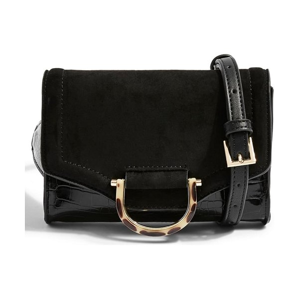 Topshop binx bumbag in black