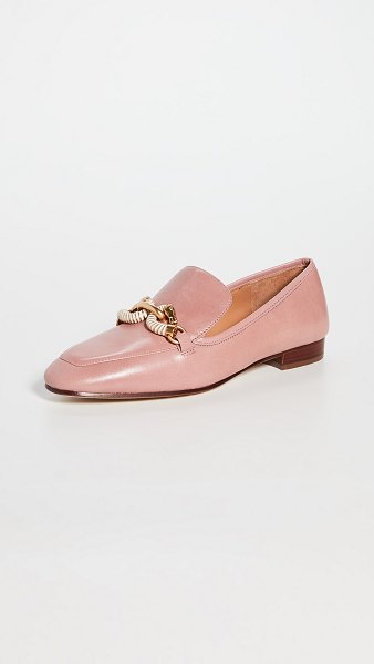 Tory Burch 20mm jessa loafers in rosa/rosa/rosa
