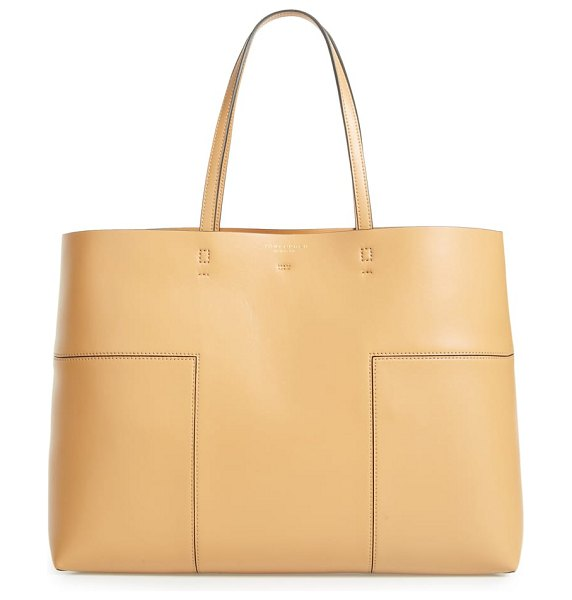 Tory Burch 'block-t' leather tote in women~~bags~~tote