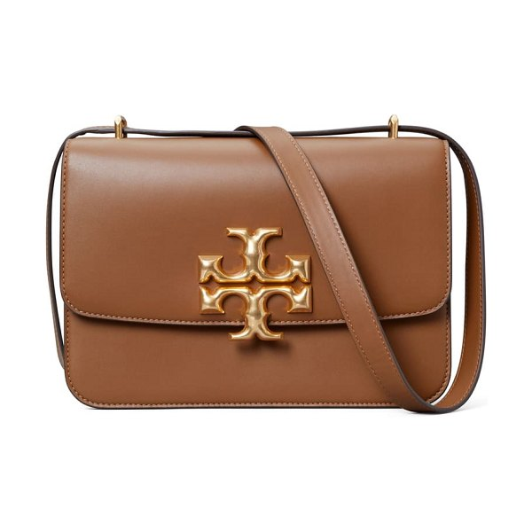 Tory Burch eleanor leather shoulder bag in moose