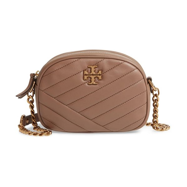 Tory Burch kira camera bag in classic taupe
