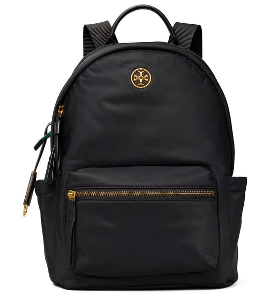 Tory Burch piper nylon backpack in royal navy