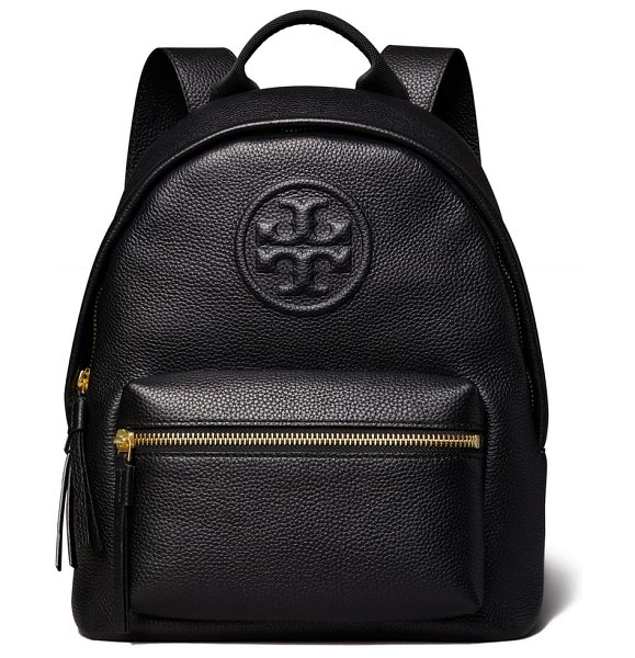 Tory Burch small bombe leather backpack in black
