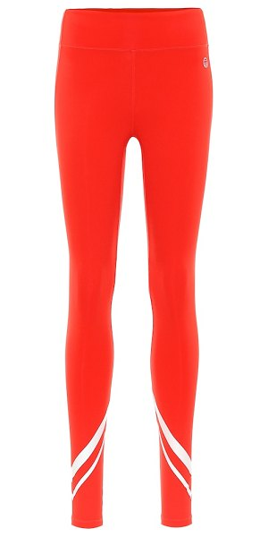 Tory Sport technical leggings in red