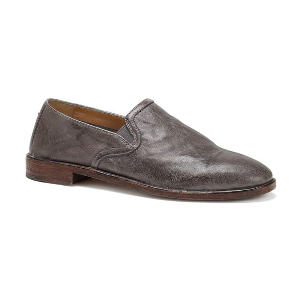 Trask ali loafer in grey leather