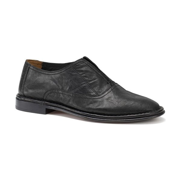Trask avery loafer in black leather