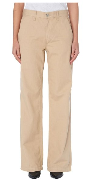 TRAVE joan high waist wide leg trousers in the beach