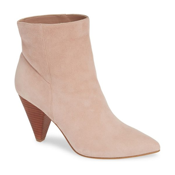 Treasure & Bond scope bootie in pink - A tapered heel provides a refreshing update for this...