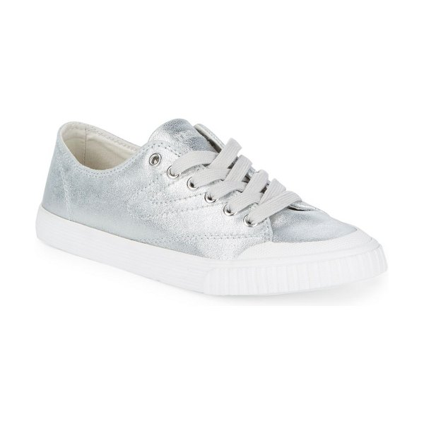 TRETORN Marley Shimmering Sneakers - Eye-catching sneakers elevated by a lustrous finish. Round...