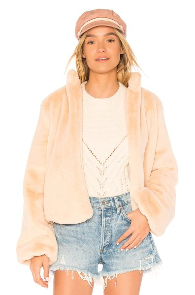 TULAROSA Inori Faux Fur Jacket - Winter, we see you. Live your luxurious life in the comfort...