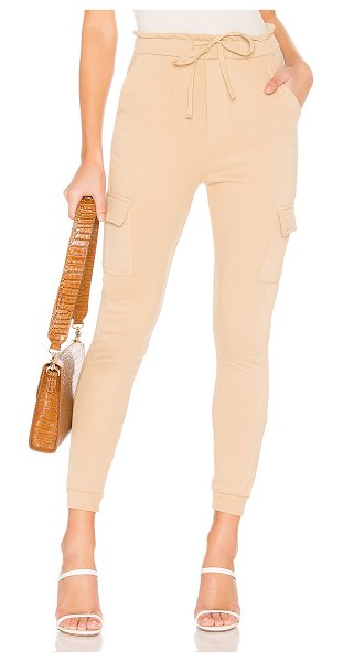 "Tularosa Margerie Sweatpants in beige - ""Self: 80% cotton 20% polyTrim 95% cotton 5%..."