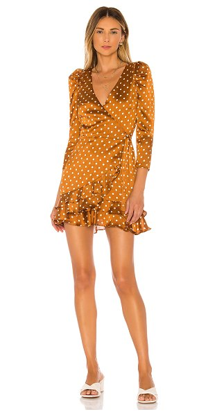Tularosa rylan dress in camel