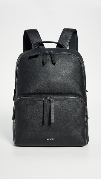 Tumi hudson backpack in black