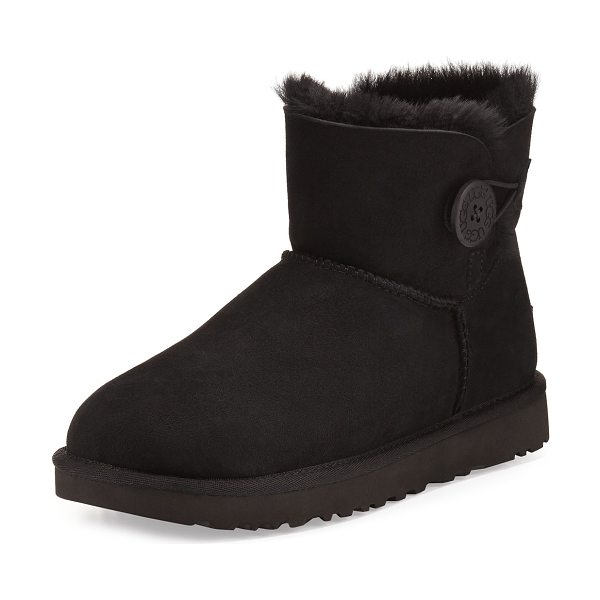 UGG Mini Bailey Button II Boot in black