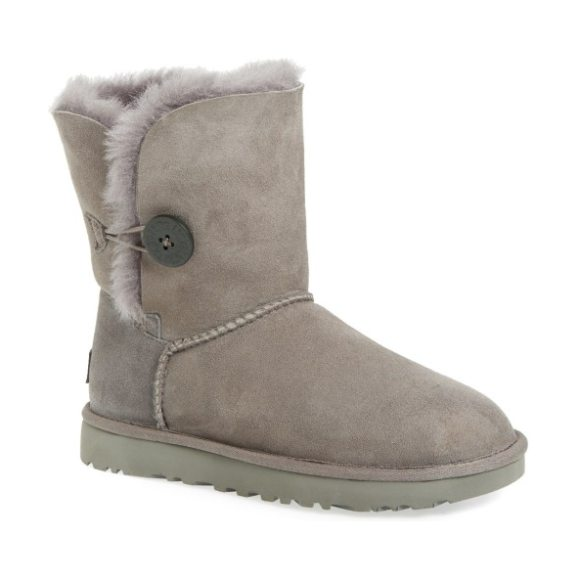 UGG ugg bailey button ii boot in grey suede