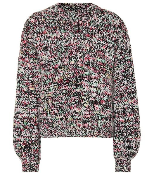 Ulla Johnson rhea wool sweater in multicoloured