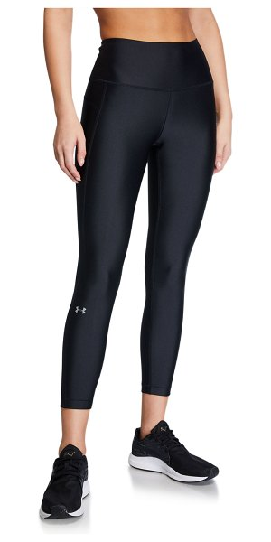 Under Armour Armour High-Rise Ankle Crop Leggings in black