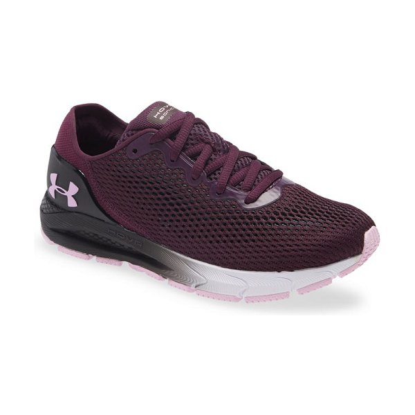 Under Armour hovr(tm) sonic 4 connected running shoe in polaris purple/ white/ pink