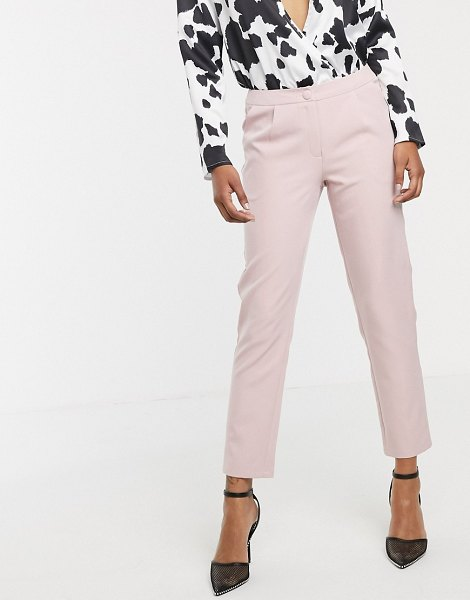 UNIQUE21 pencil pants in blush