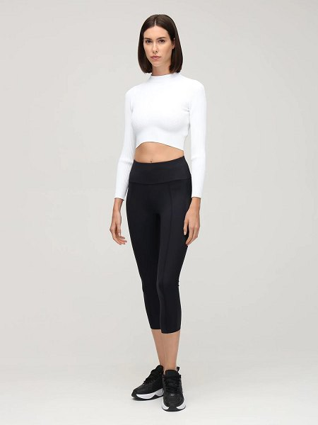 Vaara Vida true knit top in white
