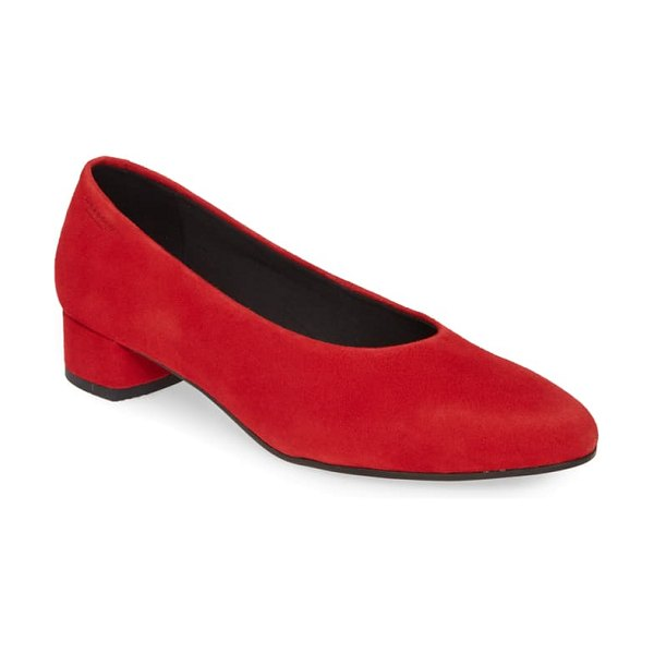 VAGABOND SHOEMAKERS alicia pump in red suede