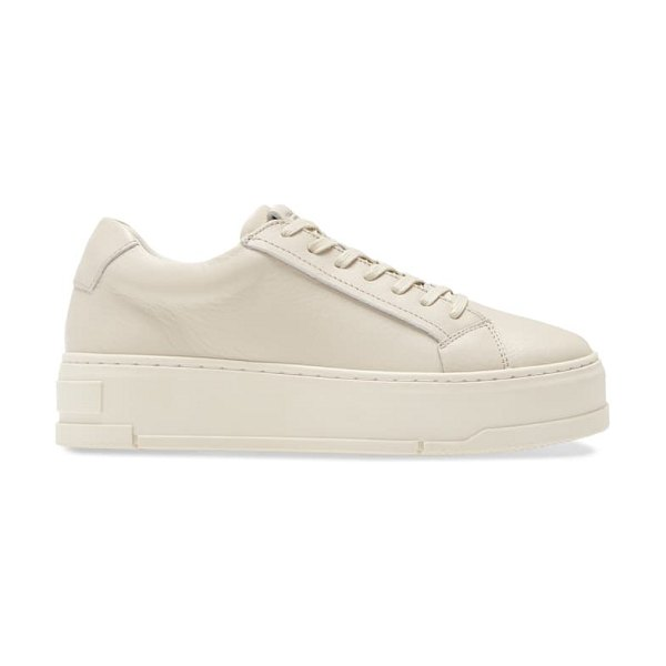 VAGABOND SHOEMAKERS judy platform sneaker in plaster leather