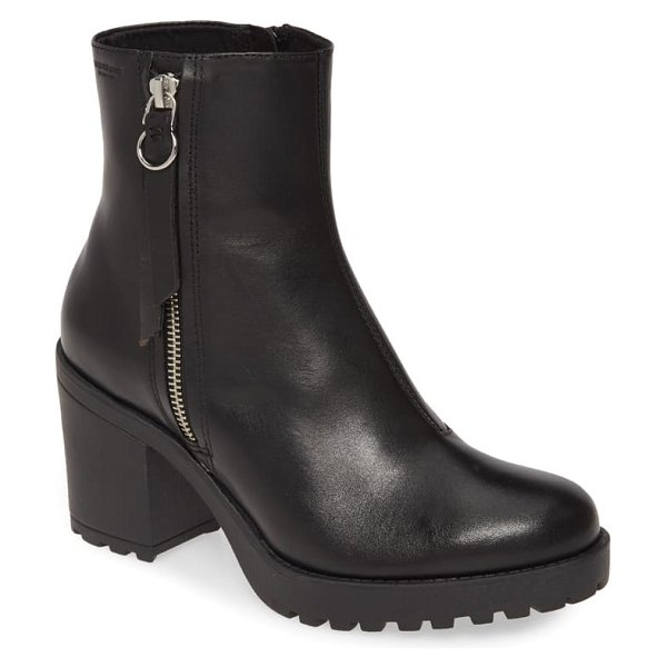 VAGABOND SHOEMAKERS vagabond grace bootie in black leather