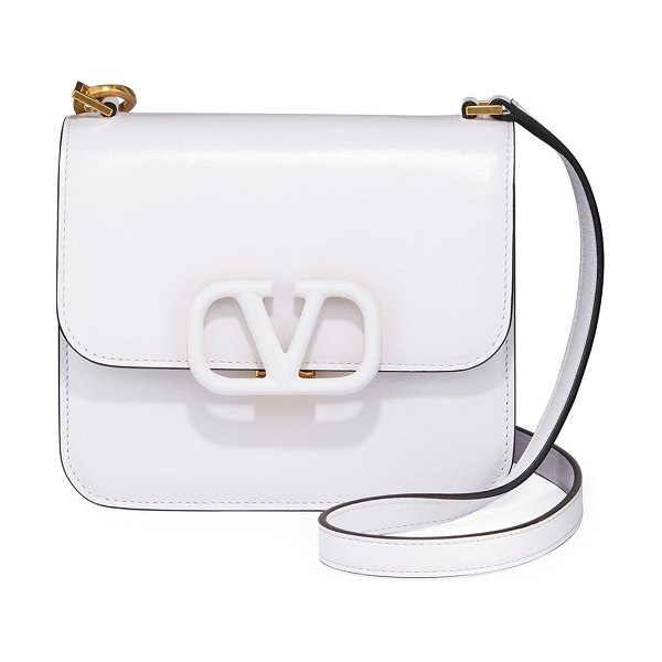 Valentino VSling Small Shoulder Bag in white