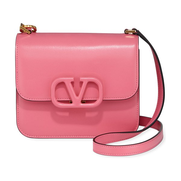 Valentino VSLING Small Shoulder Bag in bright pink
