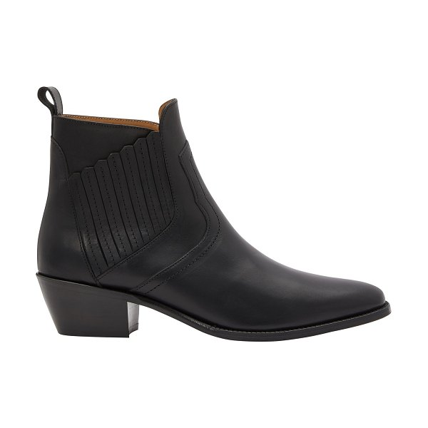 Vanessa Bruno Heeled ankle boots in noir