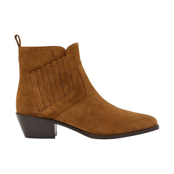 Vanessa Bruno Heeled ankle boots in noisette