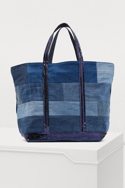 Vanessa Bruno Medium+ denim shopping bag