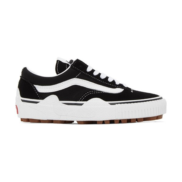 Vans cap mash lo lx sneakers in black