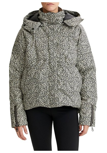 Varley carmeline jacket in micro abstract
